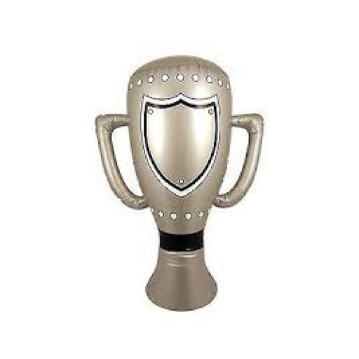Inflatable Silver Trophy 60cm