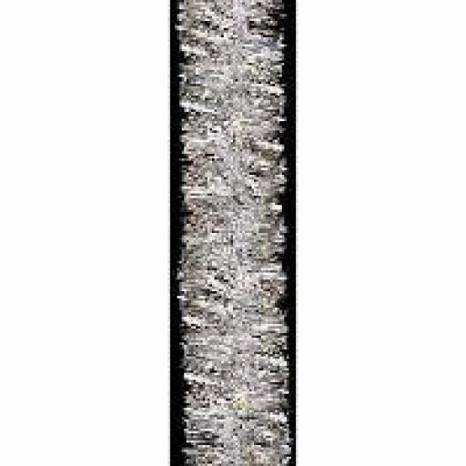 2M Tinsel Garland Silver