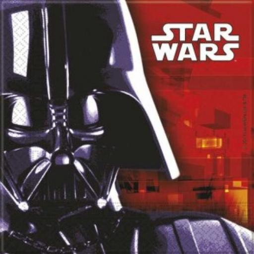 Star Wars 20x2ply Luncheon Napkins 33x33cm