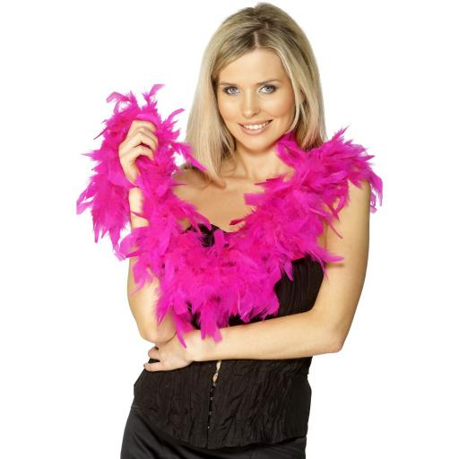 Fuchsia Feather Boa 50g