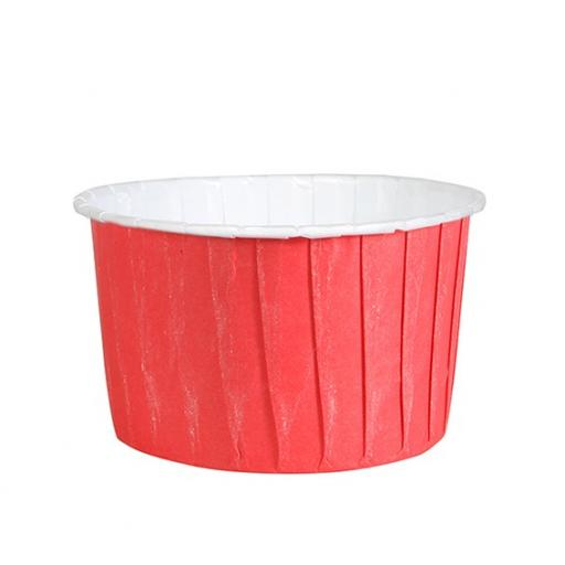 Red Coloured Baking Cups-24pcs