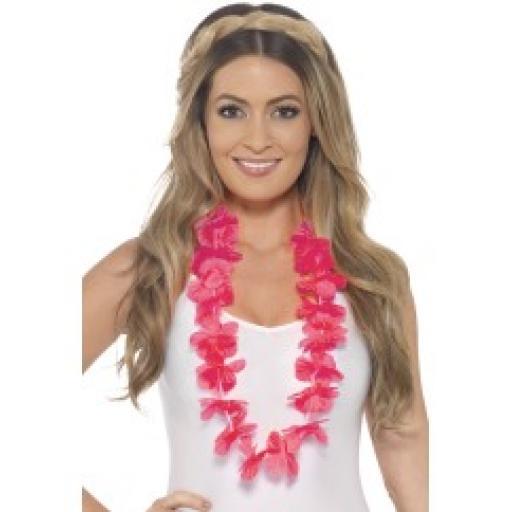 Hawaiian Lei Neon Pink