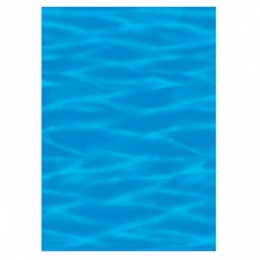 Ocean Blue Room Scene Setter 40ft long 1pc