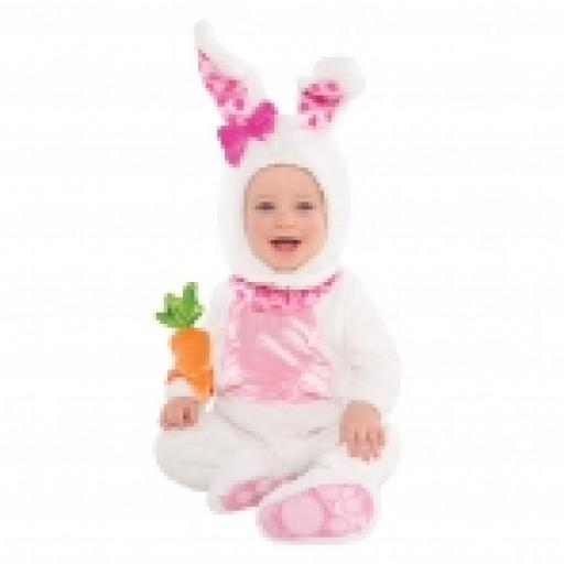 Wittel Wabbit Jumpsuit Hood With Ears Carrot Rattle INF.06-12 months