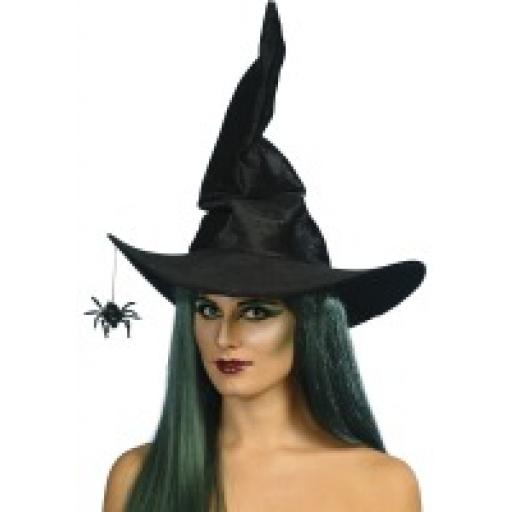 Witch Hat Velour with Spider