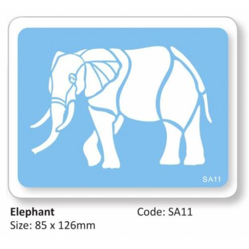 JEM Elephant Full Body Stencil