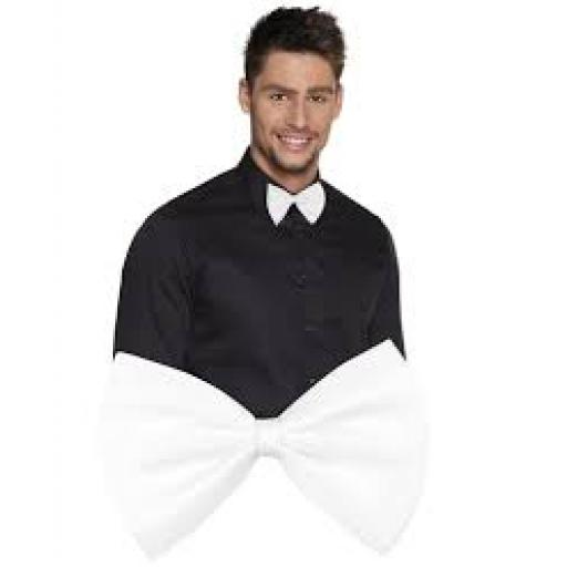 Adult Bow Tie White