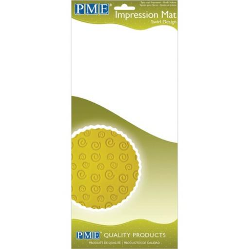 PME Impression Mat -Swril Design