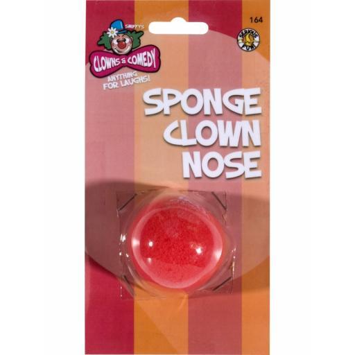 Sponge Clown Nose