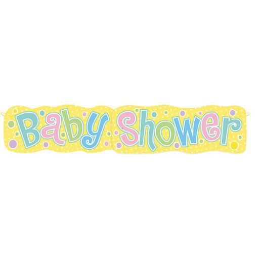 Baby Shower Giant Banner