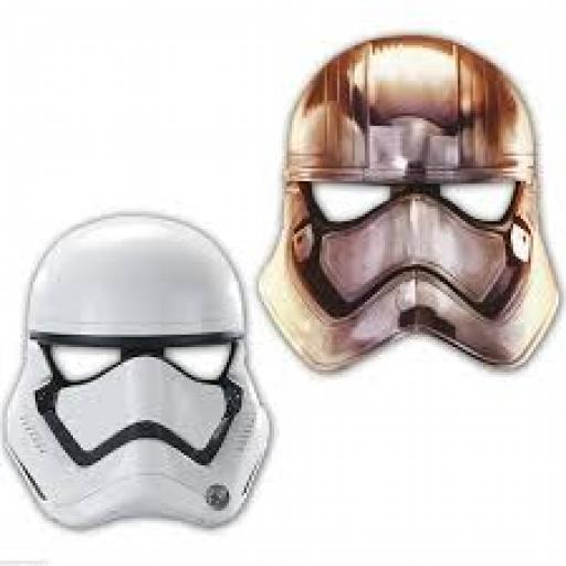 Star Wars Paper Mask 6ct