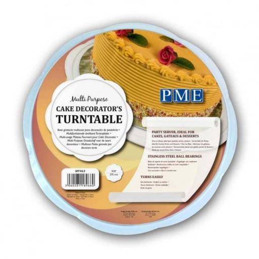 PME Multi Purpose Cake Decorators Turntable 10.8""