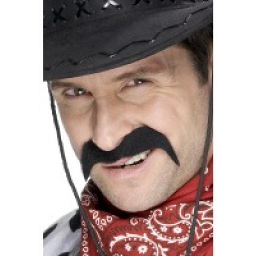 Mexican Bandit Black Moustache