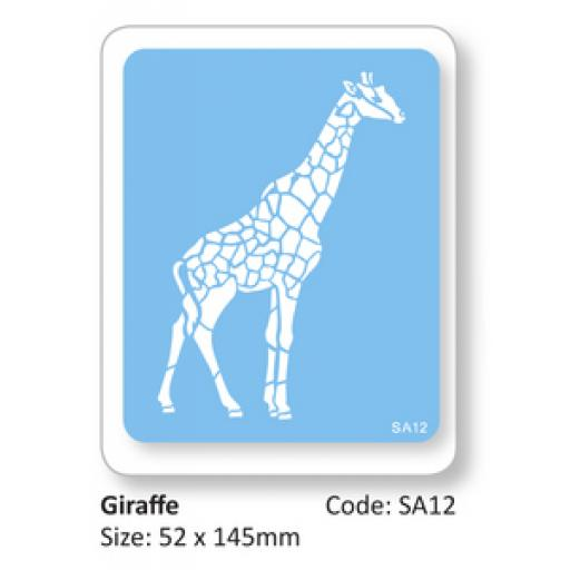 JEM Giraffe Full Body Stencil