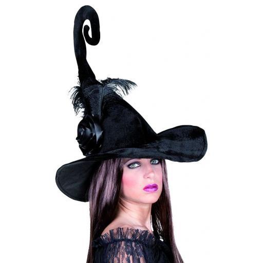 Duvessa Witch Hat Black