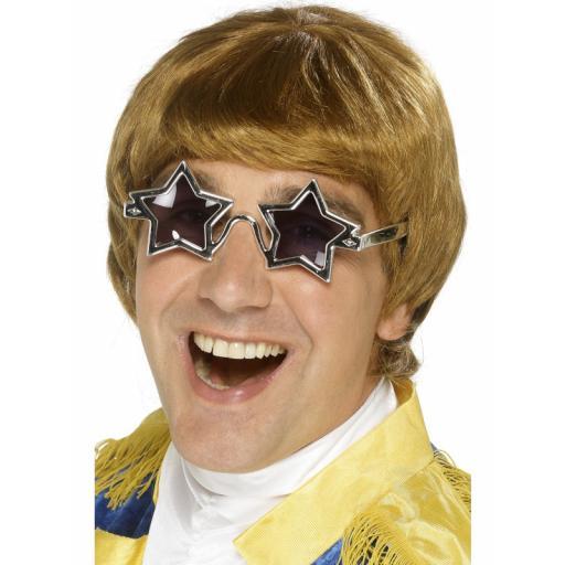 Star Man Wig & Glasses Set