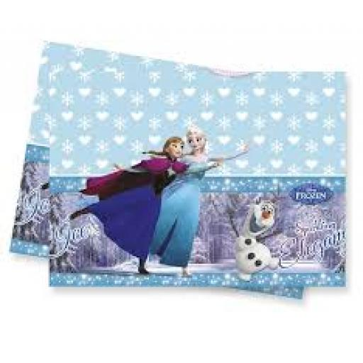 Frozen Iceskate Plastic Table cover 120x180cm