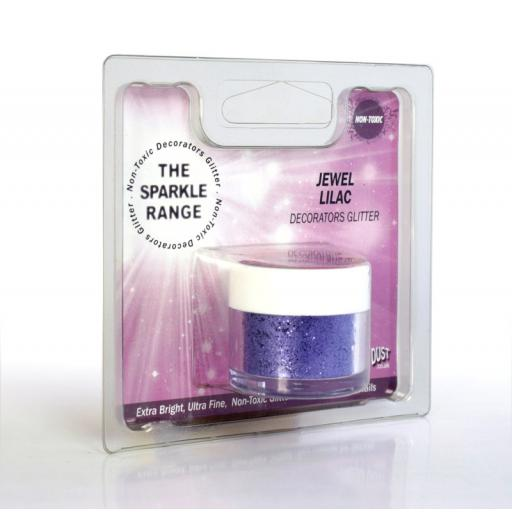 Sparkle Range Jewel Lilac Decorators Glitter