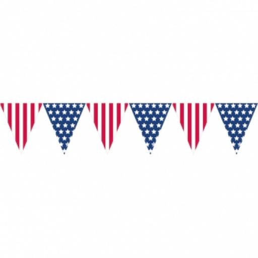 USA Pennant Banner 3.6M