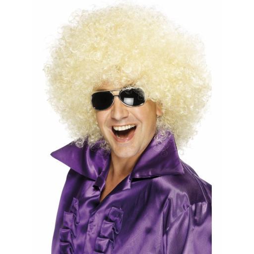 Afro Wig Mega Huge Blond