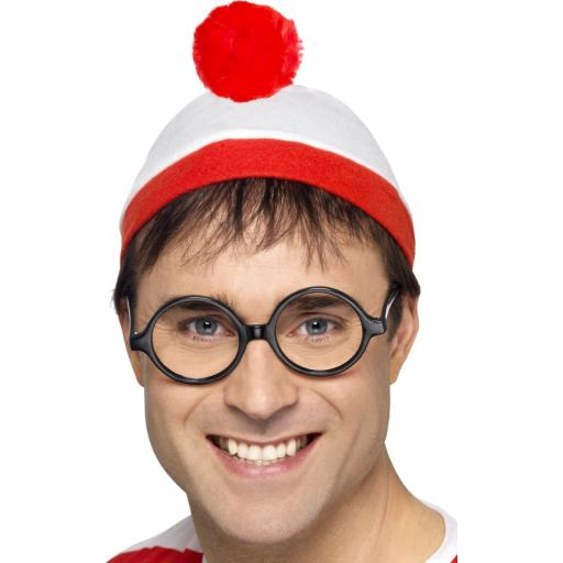 Where s Wally Instant Kit with Hat and Glasses