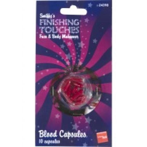 Fake Blood Capsules 10 capsules