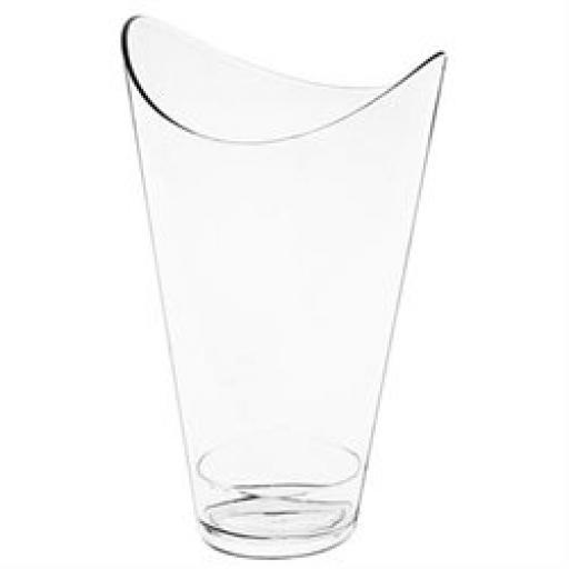 Mini Ware Clear Oval Tower Cups 10 ct