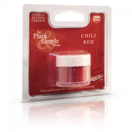 Plain & Simple-Chili red