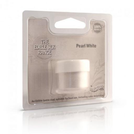 Edible Silk -Pearl White