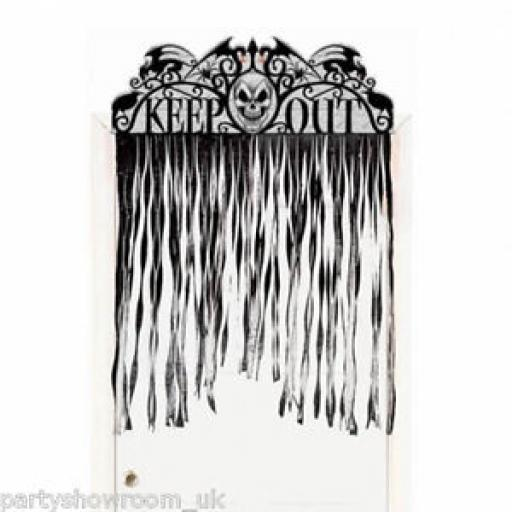 Doorway Curtain Keep Out 38x54 inch