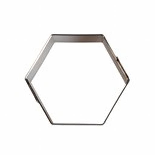 Culpitt Hexagon Metal Cutters 25mm