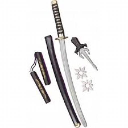 Deluxe Ninja Weapon Set