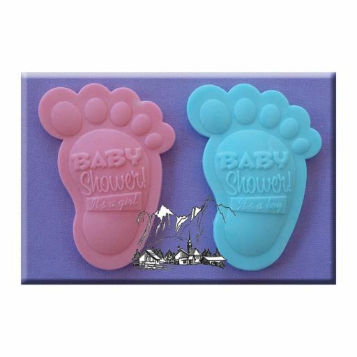 Alphabet Moulds Baby Shower Feet