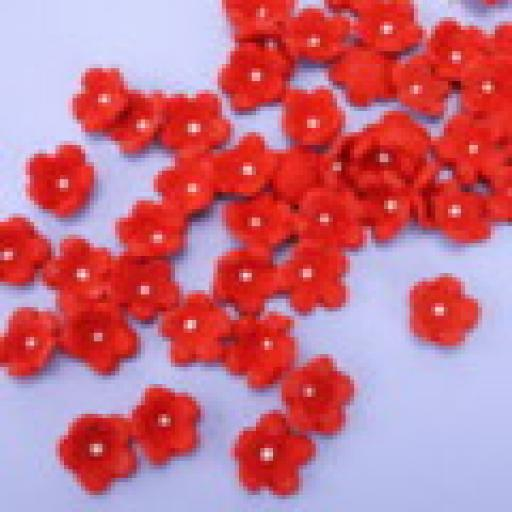Small Forget Me Not Red Blossoms 50 pcs
