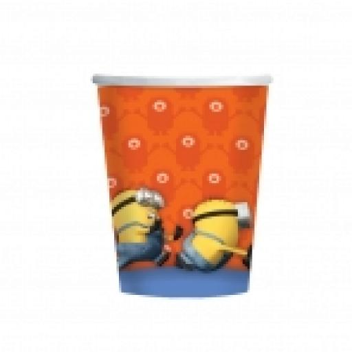 Minions Party Paper Cups 8-9oz