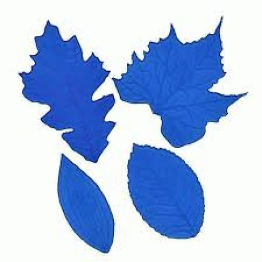 FMM Leaf Veining Mats 1-4 Set of 4