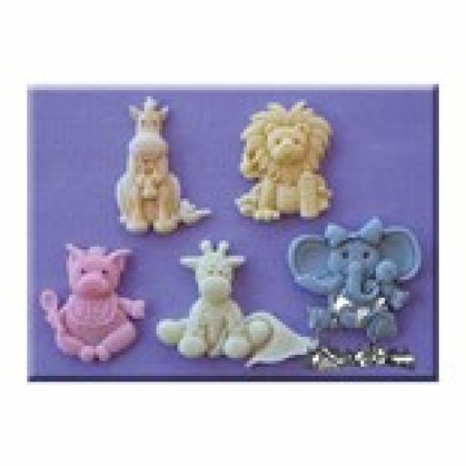 Alphabet Mould Baby Animals