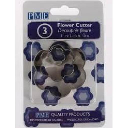 PME Flower Cutter Set of 3