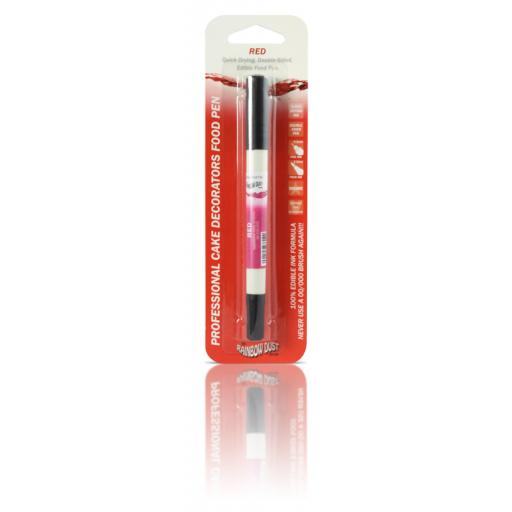Rainbow Dust Food Pen - Red