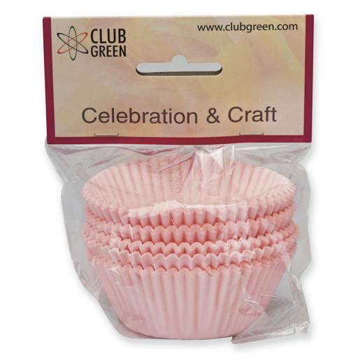 Baby Pink Cupcake Cases - 100 pcs