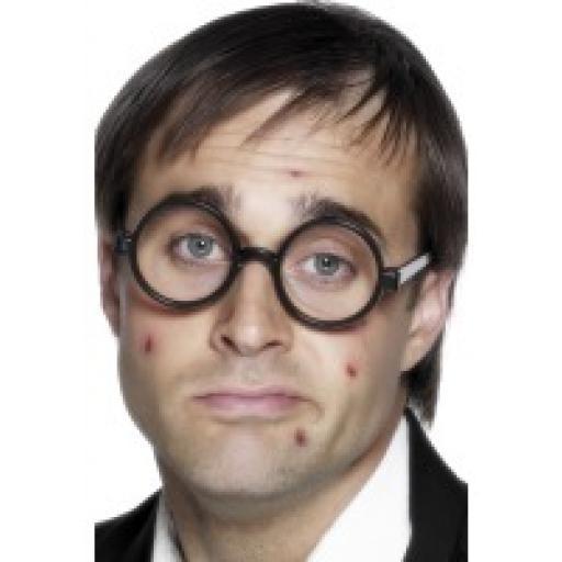 Specs Schoolboy black Rims No Lenses