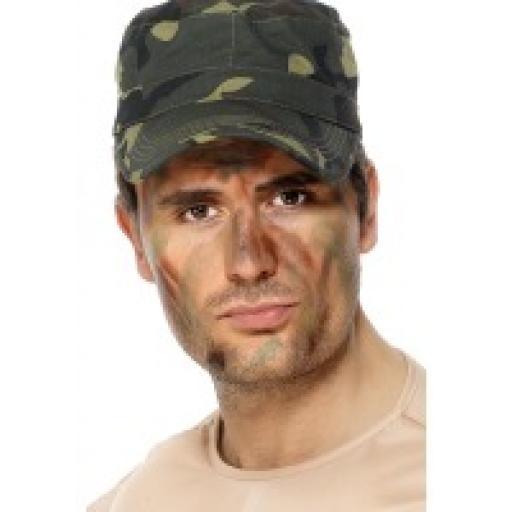 Army Make Up Set 3 colour & applicator