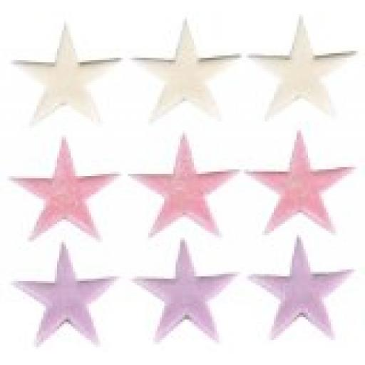 Sugar Small Stars Lilac/Pink/White