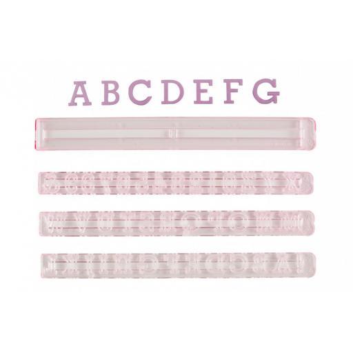 FMM Alphabet & Number Set Upper Case 1.5cm