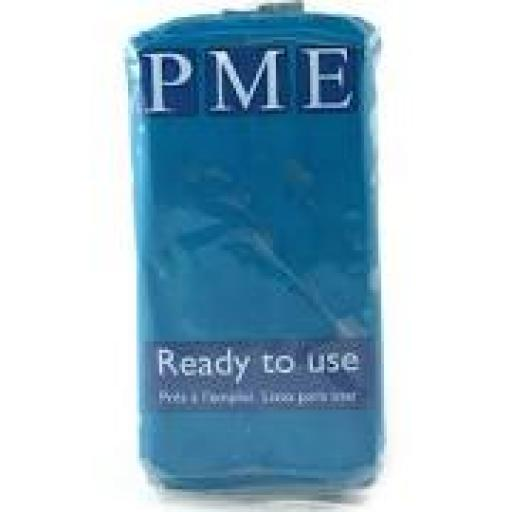 PME Turquoise Blue Sug Paste 250g Ready To Use