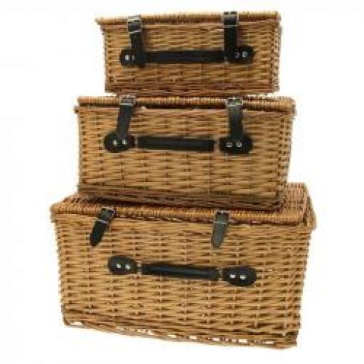 1 Large Hamper Basket 21x15x10 inch