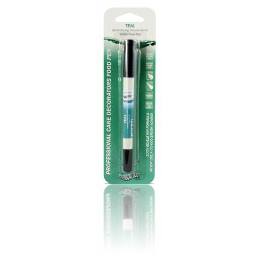 Rainbow Dust Food Pen - Teal