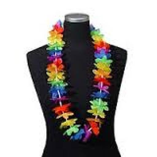 Hawaiian Rainbow Lei