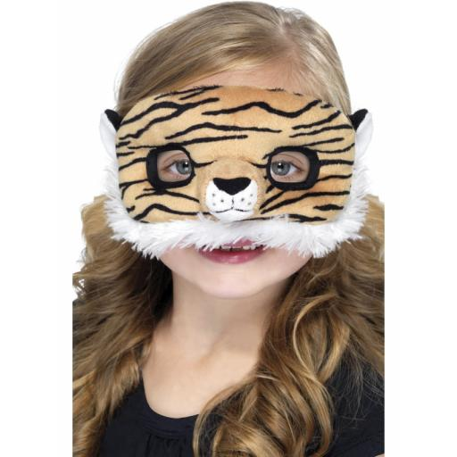 Child Plush Eyemask Tiger