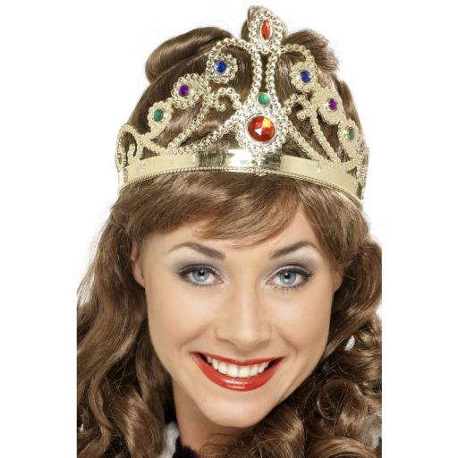 Queens Crown jewelled Gold & Silver Assorted